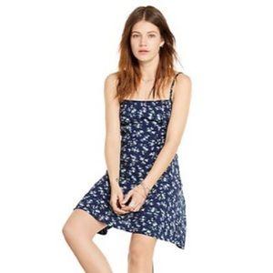 Ralph Lauren Denim Supply Blue Floral Slip Dress